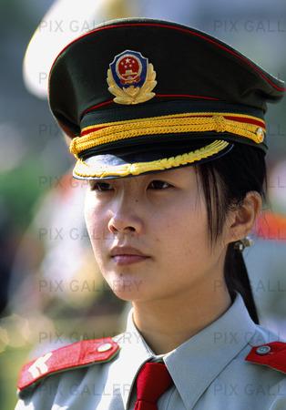 Kvinna i Röda armén, Kina