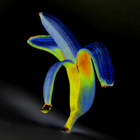 Idèbild  banan  (solariserad)