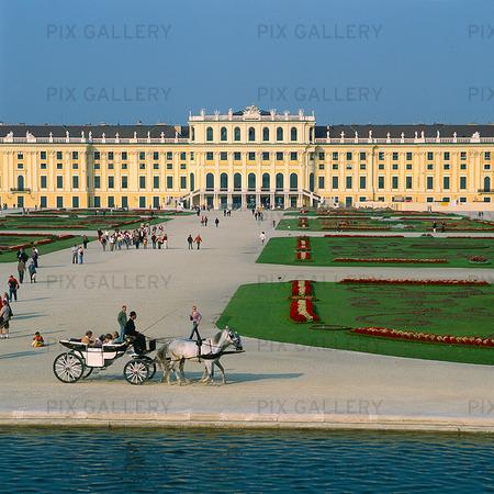 Schonbrunn in Vienna, Austria