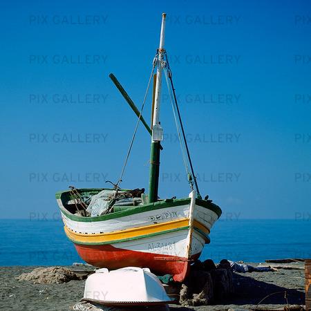 Fiskebåt, Spanien