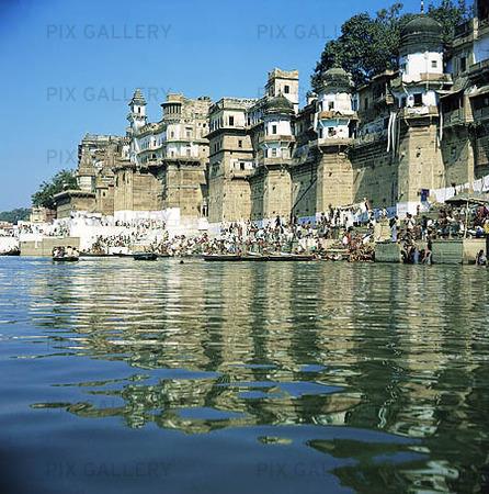 Floden ganges, indien
