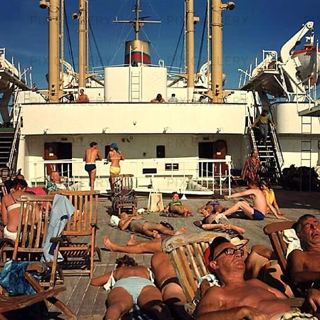 Kryssningsfartyg, 60-talet