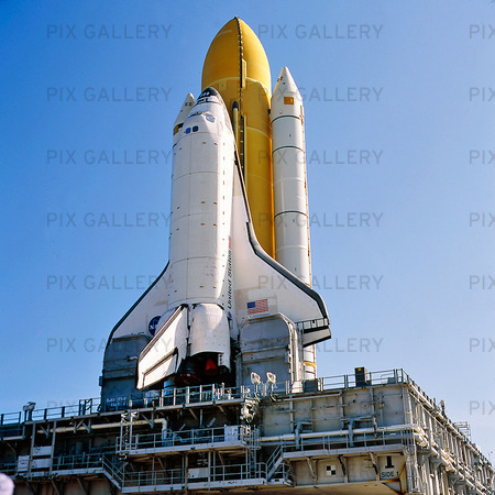 """Rymdfärja """"Discovery"""", KSC-NASA, USA"""