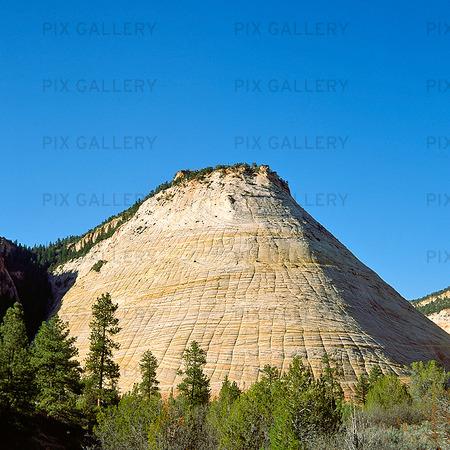 Zion nationalpark i Utah, USA