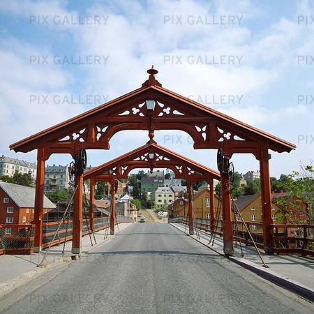 Bro i Trondheim, Norge