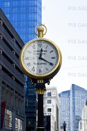 Klocka i Boston, USA