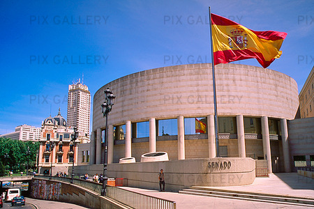 Parlamentet i Madrid, Spanien