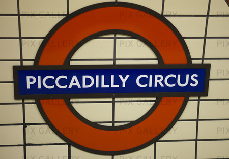 Metro station, Piccadilly Circus
