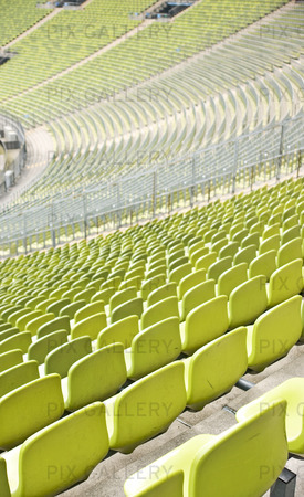 Tomma platser på stadion
