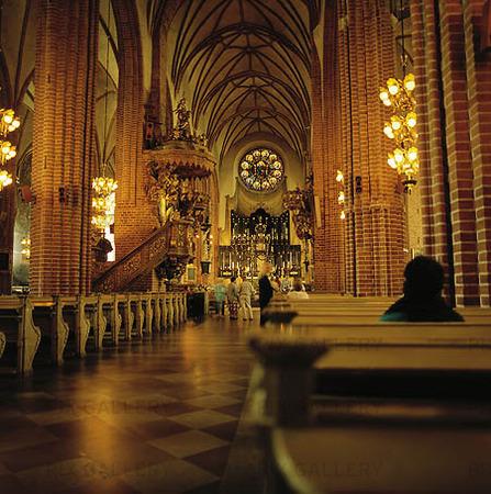Interiör Storkyrkan, Stockholm