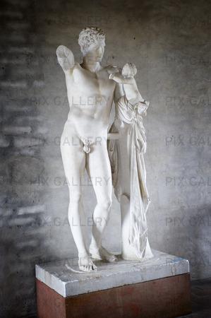 Staty Hermes och Dionysosbarnet
