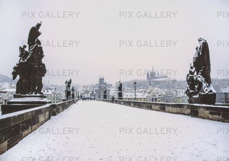 Vinter i Prag, Tjeckien