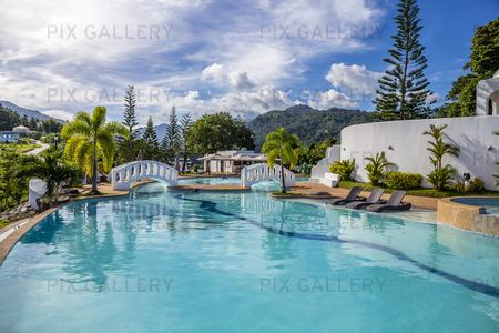 Swimmingpool i Filippinerna
