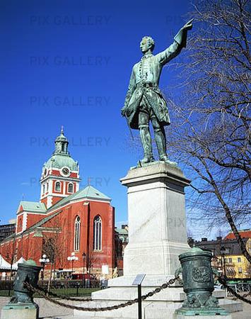 Karl XII i Kungsträdgården, Stockholm