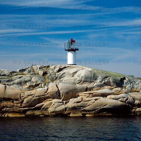 Fyr utanför Strömstad, Bohuslän