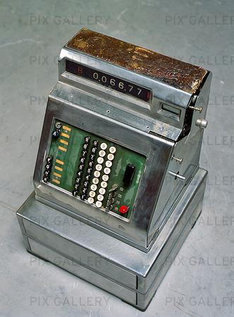 Äldre kassaapparat