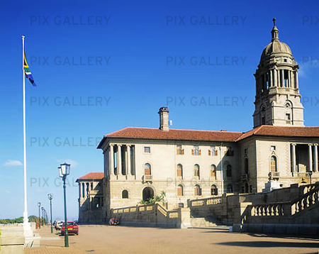 Parlamentet i Pretoria, Sydafrika