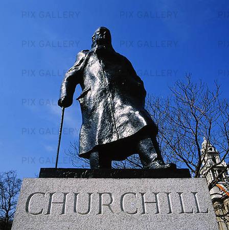 Statue in London, United Kingdom