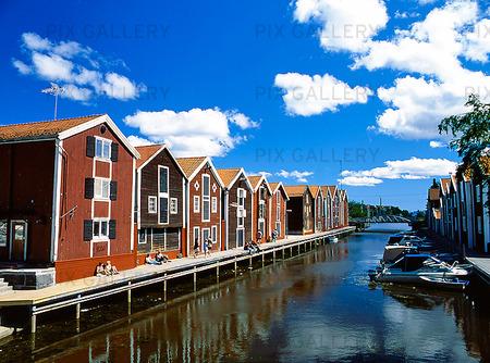 Magasin i Hudiksvall, Hälsingland