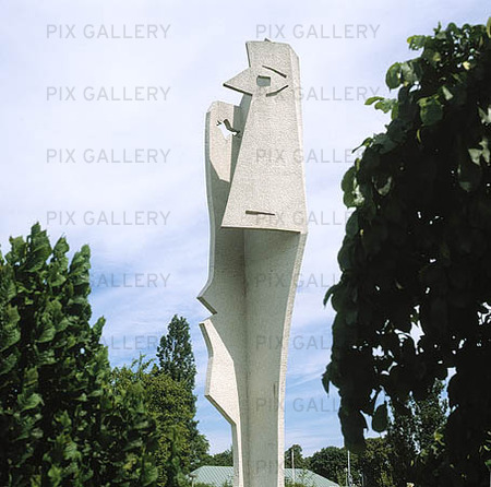 Picassoskulptur i Halmstad, Halland