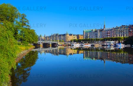 Stockholm, tidigt på morgonen