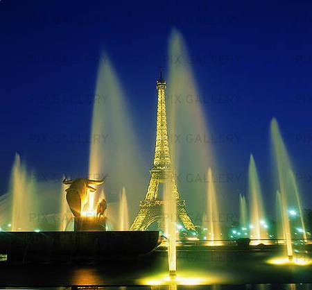 Bild p eiffeltornet i paris frankrike xvdzll rights for Www frankbetz com