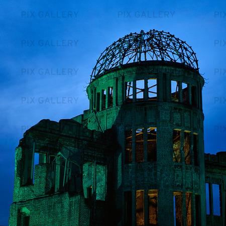 A-bomb Dome i Hiroshima, Japan