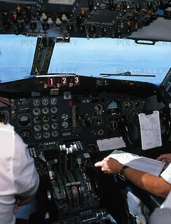 Piloter i flygplan
