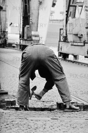 Stensättare  1960 talet