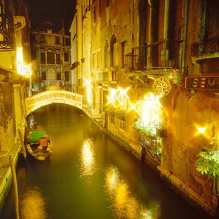 Kanal i Venedig, Italien