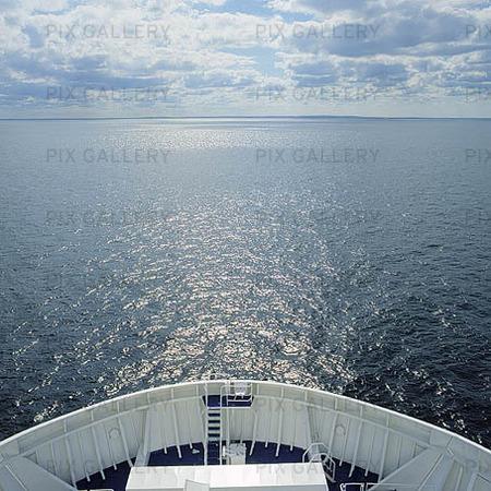 Fartyg på havet