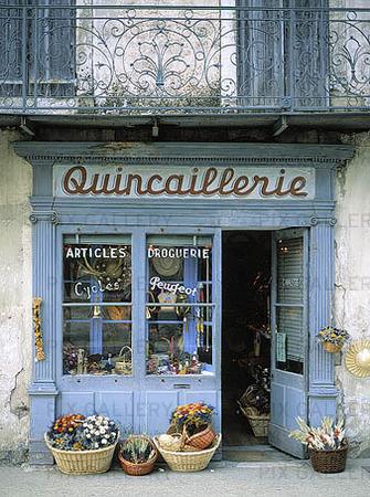 Butik, Frankrike