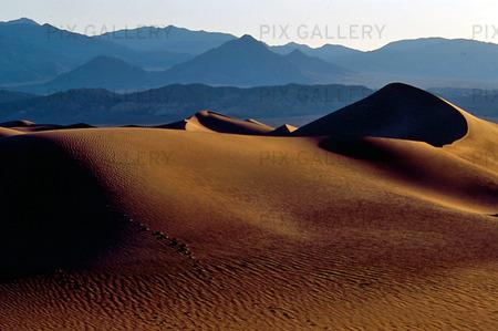 Death Valley i Kalifornien, USA