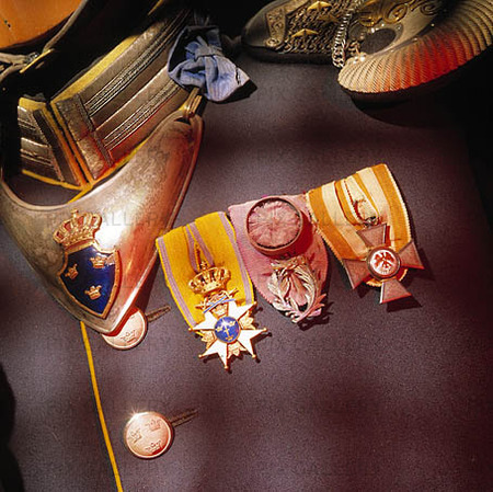 Medaljer på uniform