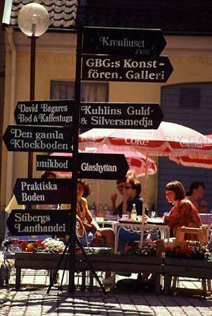 Folkliv vid Kronhuset, Göteborg