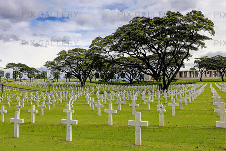 Manila American Cemetery and Memorial, Filippinerna