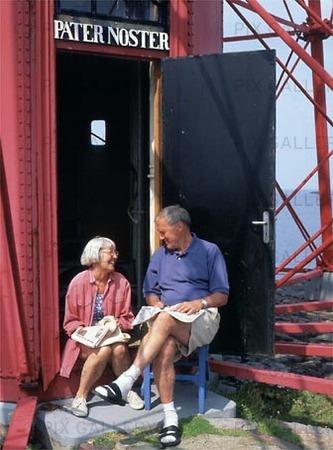 Par vid Pater Noster fyr, Bohuslän
