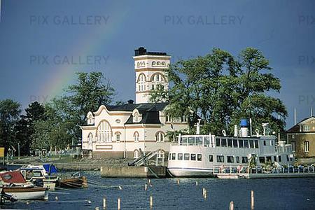 Hamnen i Västervik, Småland