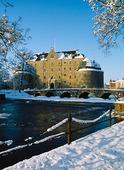 Örebro slott, vintertid