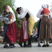 Folkdans på Skansen, Stockholm