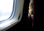 Pojke i flygplan