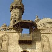 Koptisk kyrka i Kairo, Egypten