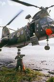 Ytbärgning med helikopter