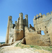 Castle of Valencia de Don Juan, Spanien