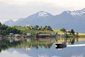 Fjordlandskap, Norge