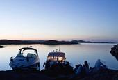 Fritidsbåtar i naturhamn