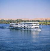 Färja på Nilen, Egypten