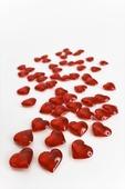 Röda hjärtan