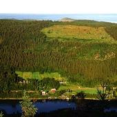 Landskapsvy, Ångermanland