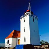 Hammerodde fyr på Bornholm, Danmark